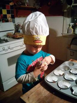 Cupcakes, 5 years old